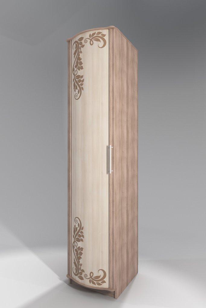 Шкафы для одежды и белья: Пенал с фотопечатью Кристина 3 в Стильная мебель