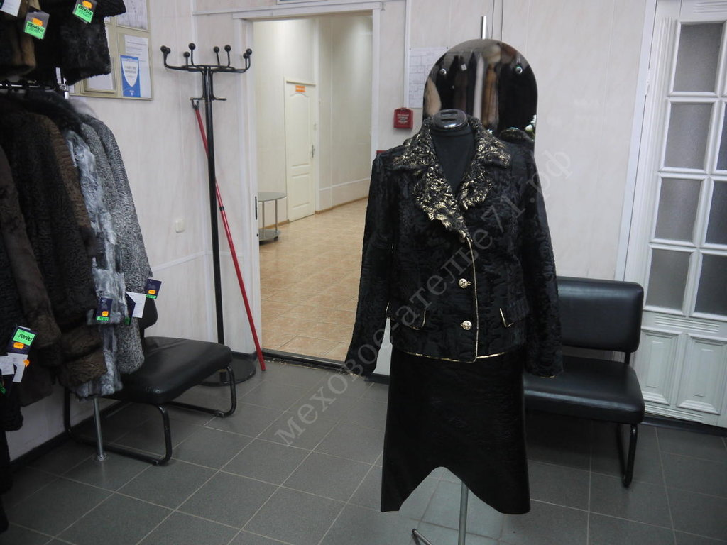Индивидуальный пошив: Комбинированный пиджак из каракульчи в Молодость