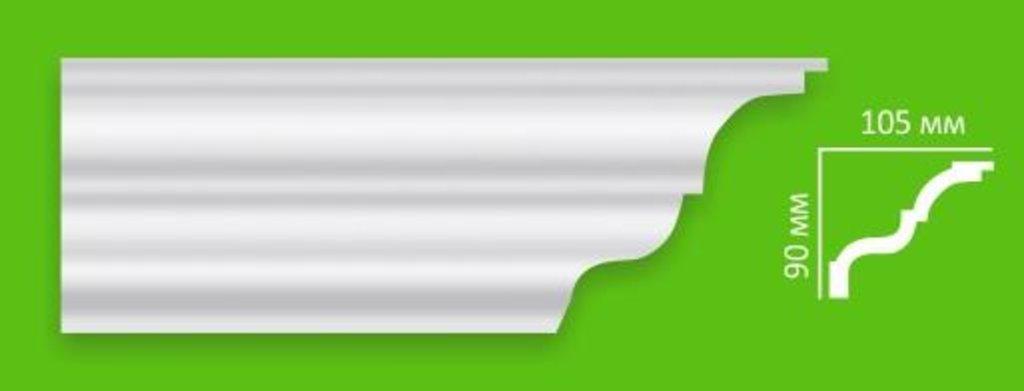 Плинтуса потолочные: Плинтус потолочный Decoline T1 в Мир Потолков