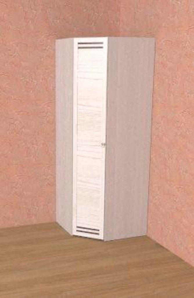 Шкафы для спальни: Шкаф угловой ФАСАД Стандарт БРИЗ 56 в Стильная мебель
