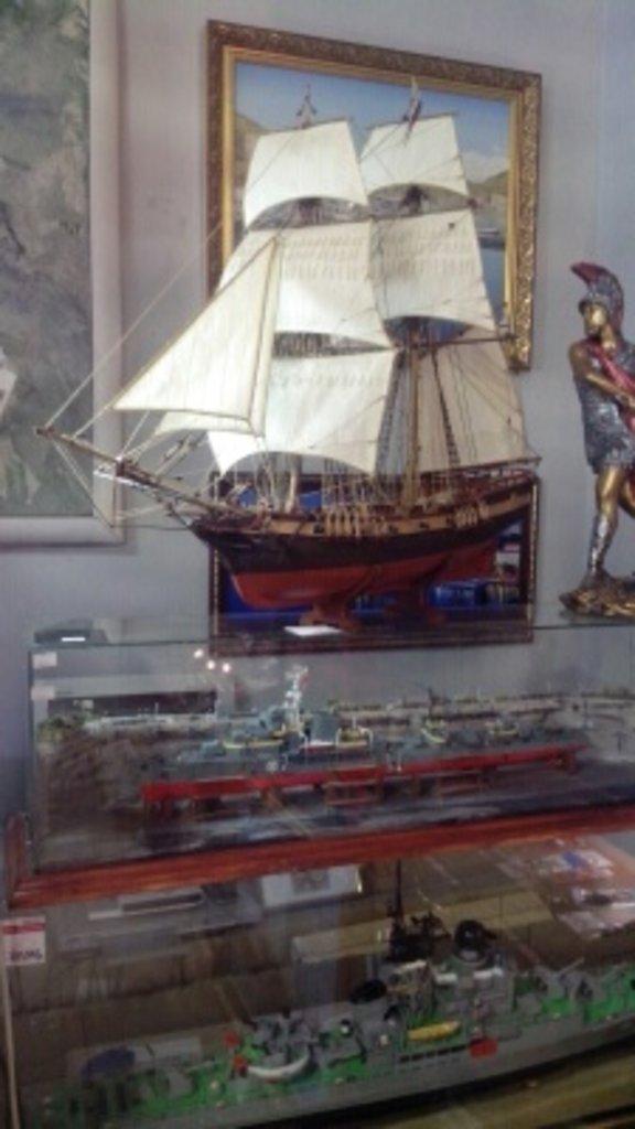 """Модели кораблей: Модель бригантины """"Феникс"""" в Модели кораблей"""