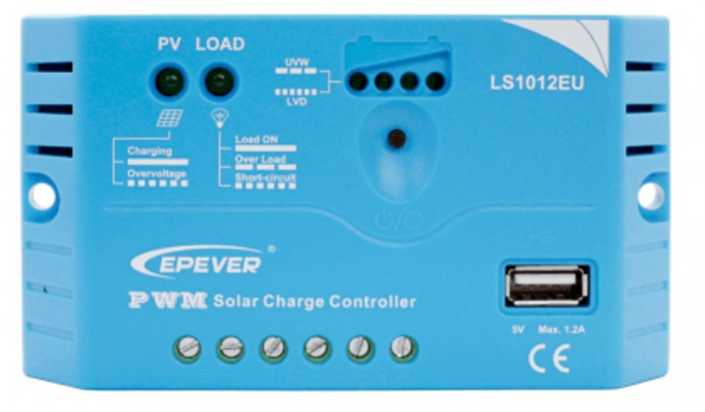 ШИМ контроллеры: Контроллер заряда EPSolar LS1012EU в Горизонт