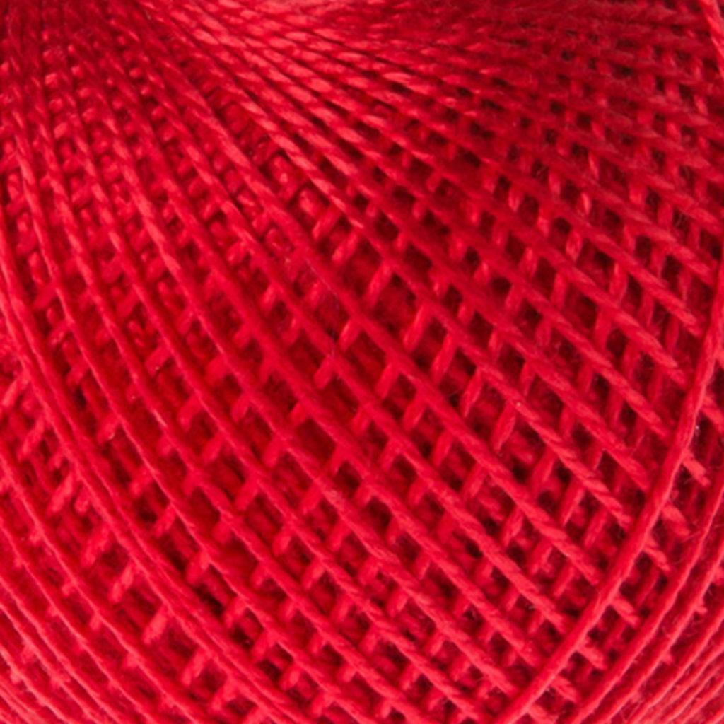 Ирис 25гр.: Нитки Ирис 25гр.150м.(100% хлопок)цвет 0904 красный в Редиант-НК