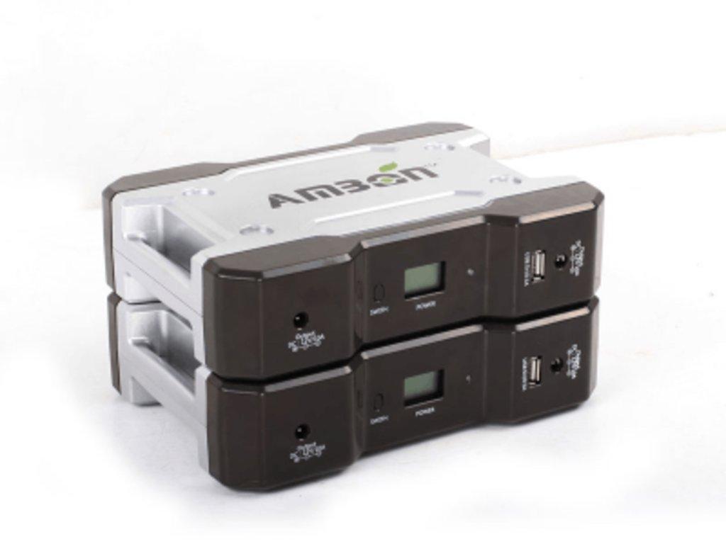 Портативные аккумуляторы: Портативный аккумулятор AMBON 120Вт в Горизонт