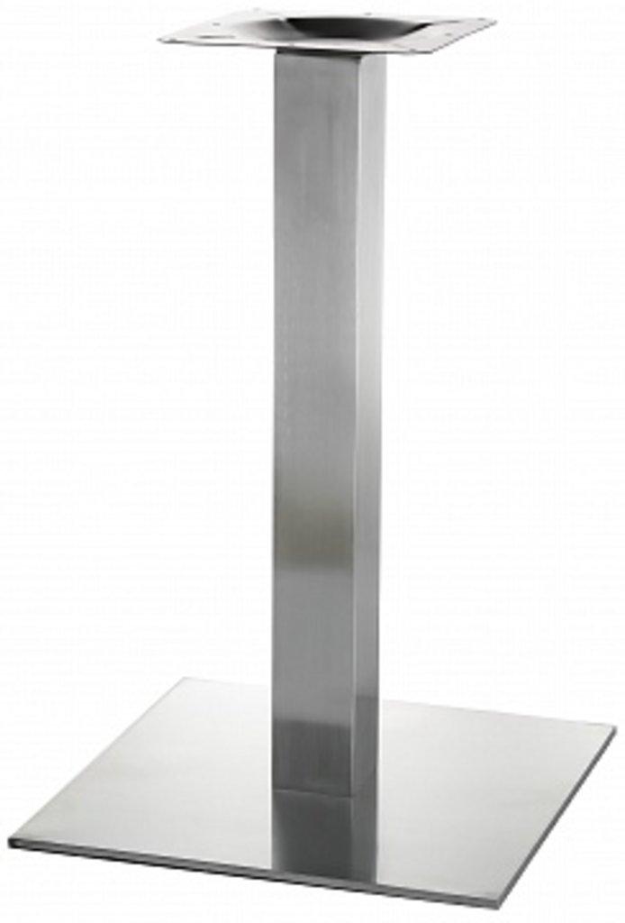 Подстолье, опоры: Подстолье 1002EM (нержавеющая сталь матовое) в АРТ-МЕБЕЛЬ НН