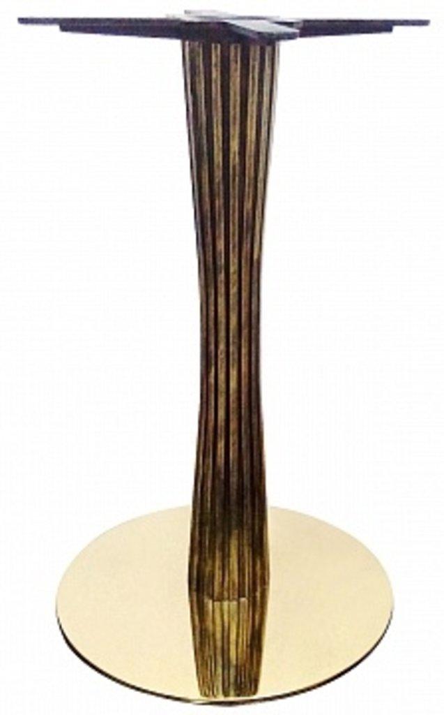 Подстолье, опоры: Подстолье 1270ЕМ (хром золото) в АРТ-МЕБЕЛЬ НН