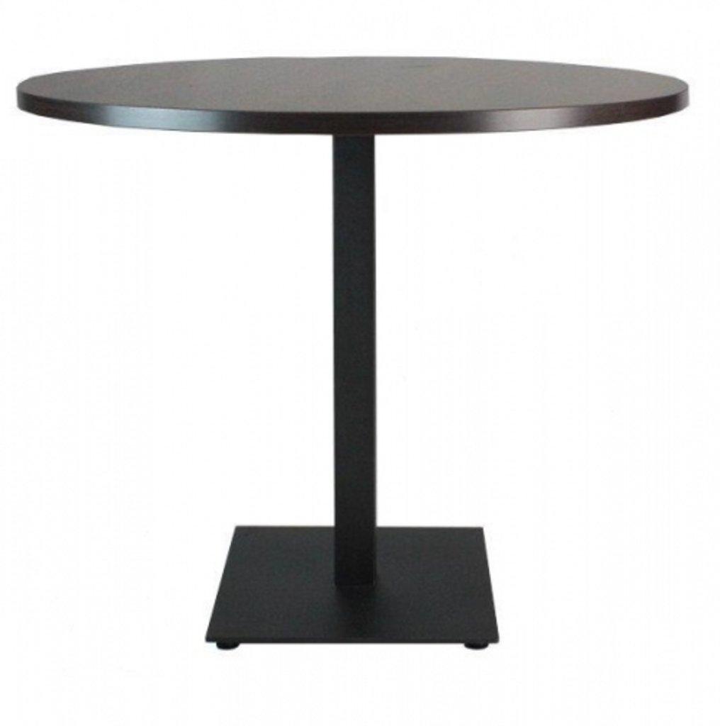 Столы для ресторана, бара, кафе, столовых: Стол круг 80, подстолья 01 С-100 чёрная в АРТ-МЕБЕЛЬ НН