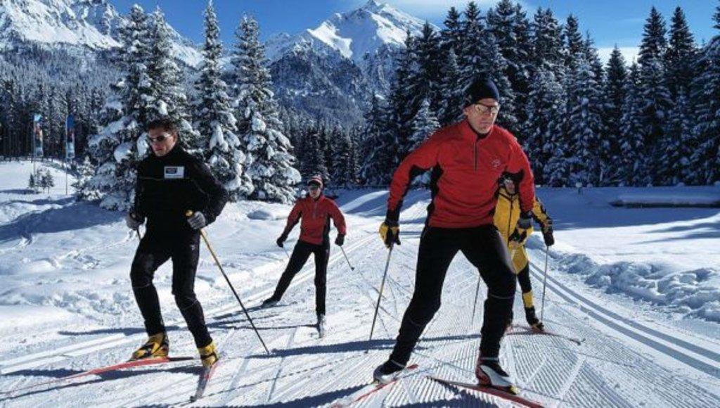 Спортивный зимний отдых: Беговые лыжи в Seventh Heaven