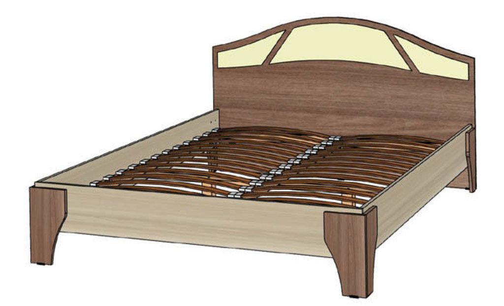 Мебель для спальни Верона. Модульная серия.: Кровать 2-х спальная 1600 Верона в Уютный дом