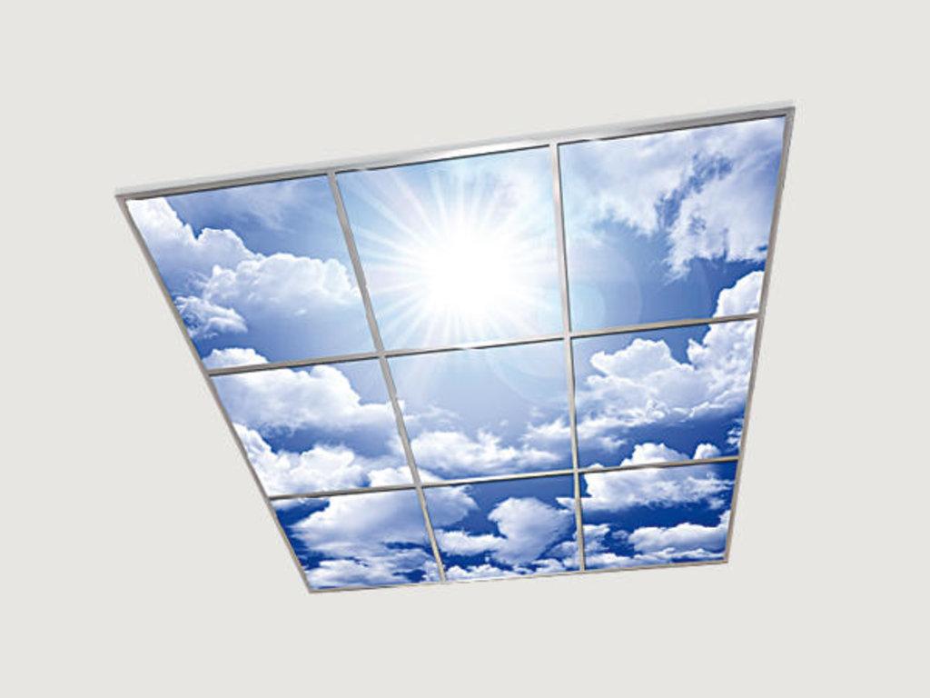 Витражные (стеклянные) потолки: Серия « 3D Анимация» в Мир Потолков