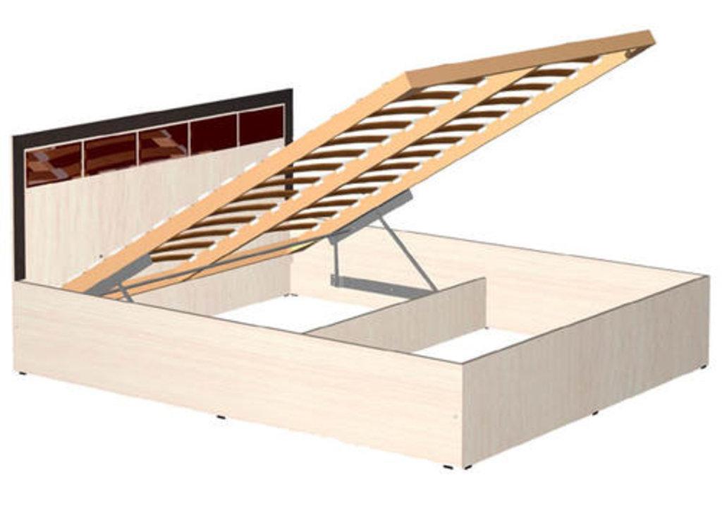 Мебель для спальни  Венеция. Модульная серия.: Кровать 2-х спальная 1600 с подъём мех. Венеция в Уютный дом
