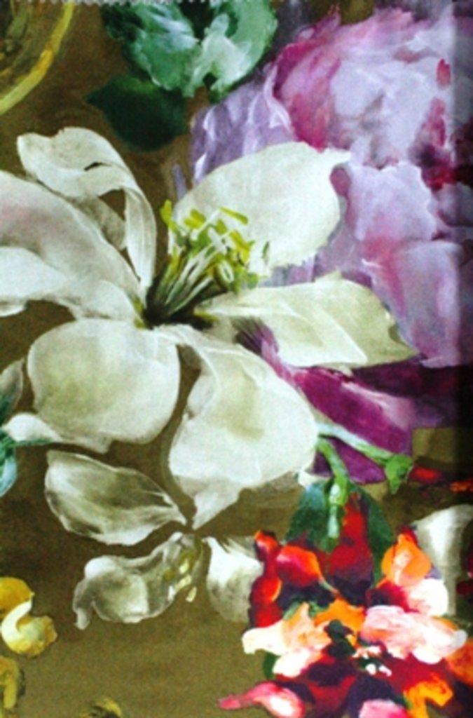 Портьерные ткани: Jardin du marais в Салон штор, Виссон