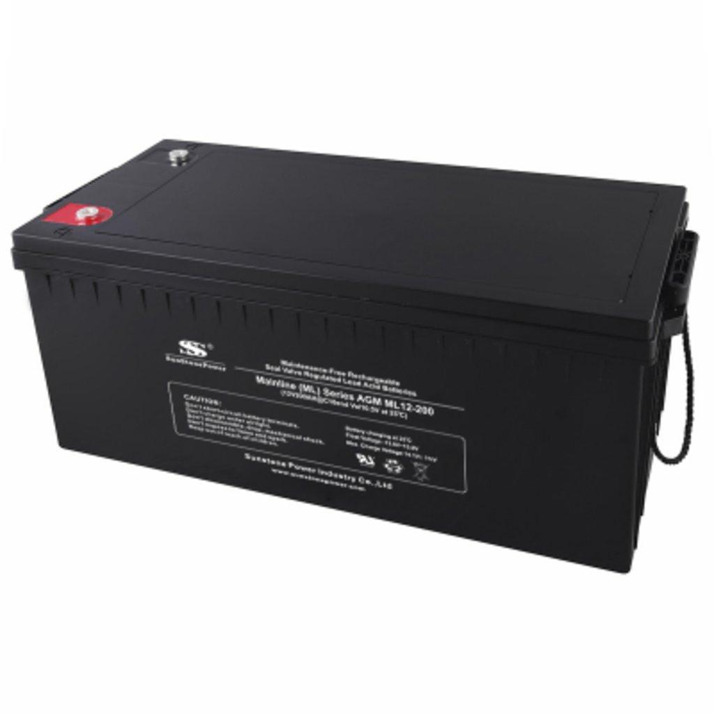 AGM: Аккумулятор SunStonePower ML12-200 в Горизонт