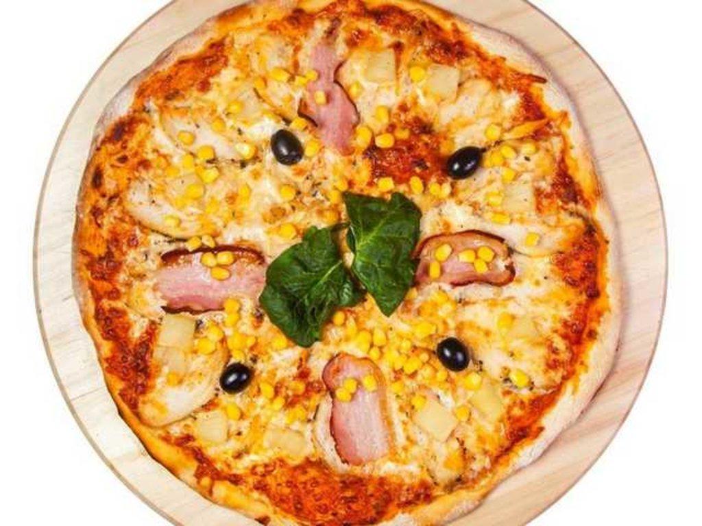 Пицца 35 см: Алоха гаваи в Balkan