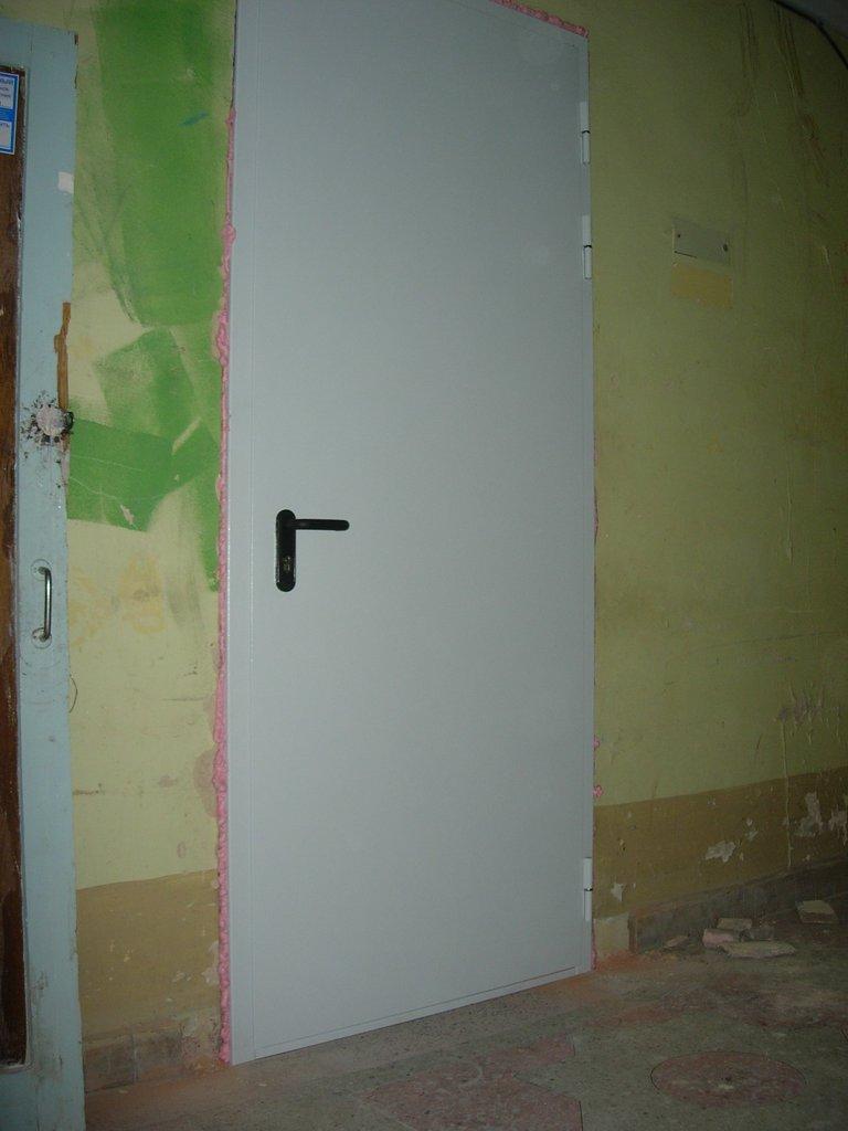Противопожарные двери: Противопожарная однопольная дверь ДПМ1 EI 60 (1100) в Автоворота71