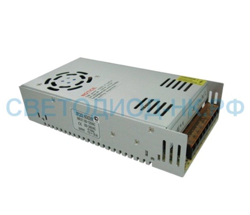 В защитном кожухе: Ecola Блок питания для св/д лент 12V 400W IP20 вентилятор  B2L400ESB в СВЕТОВОД