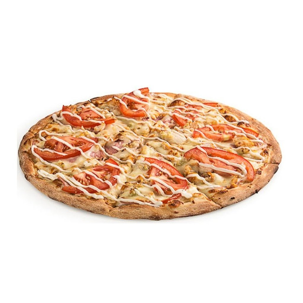 Пицца: Пицца с ветчиной и сыром в Обедовъ