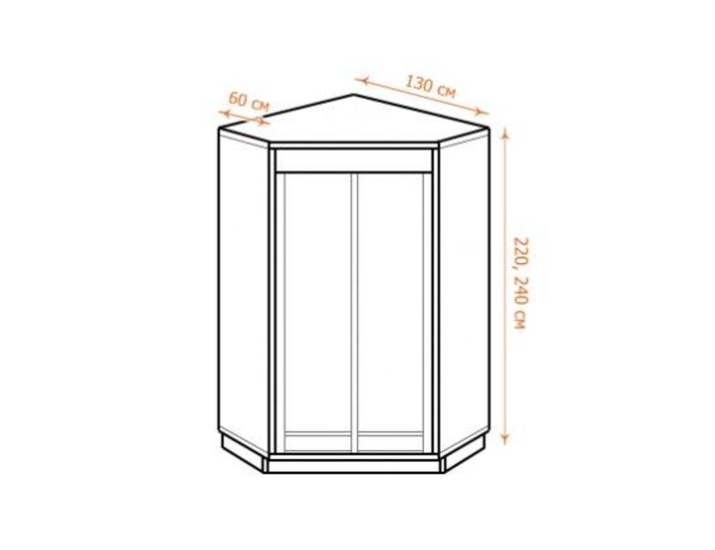 Шкафы-купе: Шкаф-купе угловой в Уютный дом