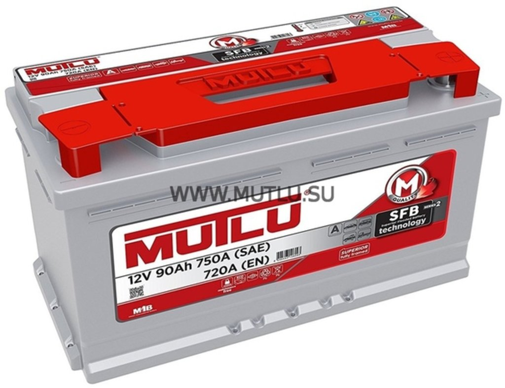 MUTLU: Аккумулятор MUTLU 6CT - 90 в БазаАКБ