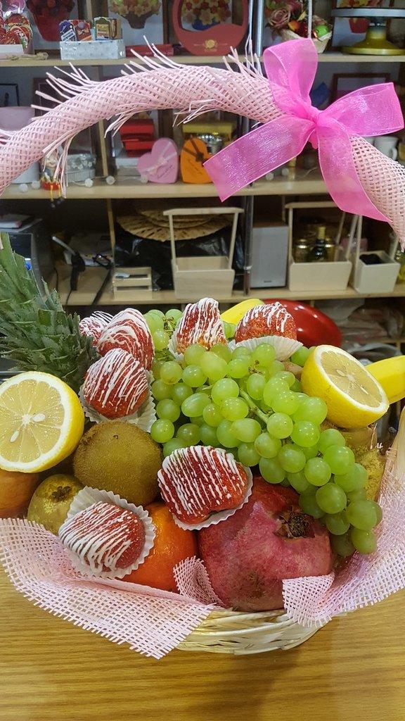 ВСЕ БУКЕТЫ: Корзина с фруктами #2 в Fruit Art