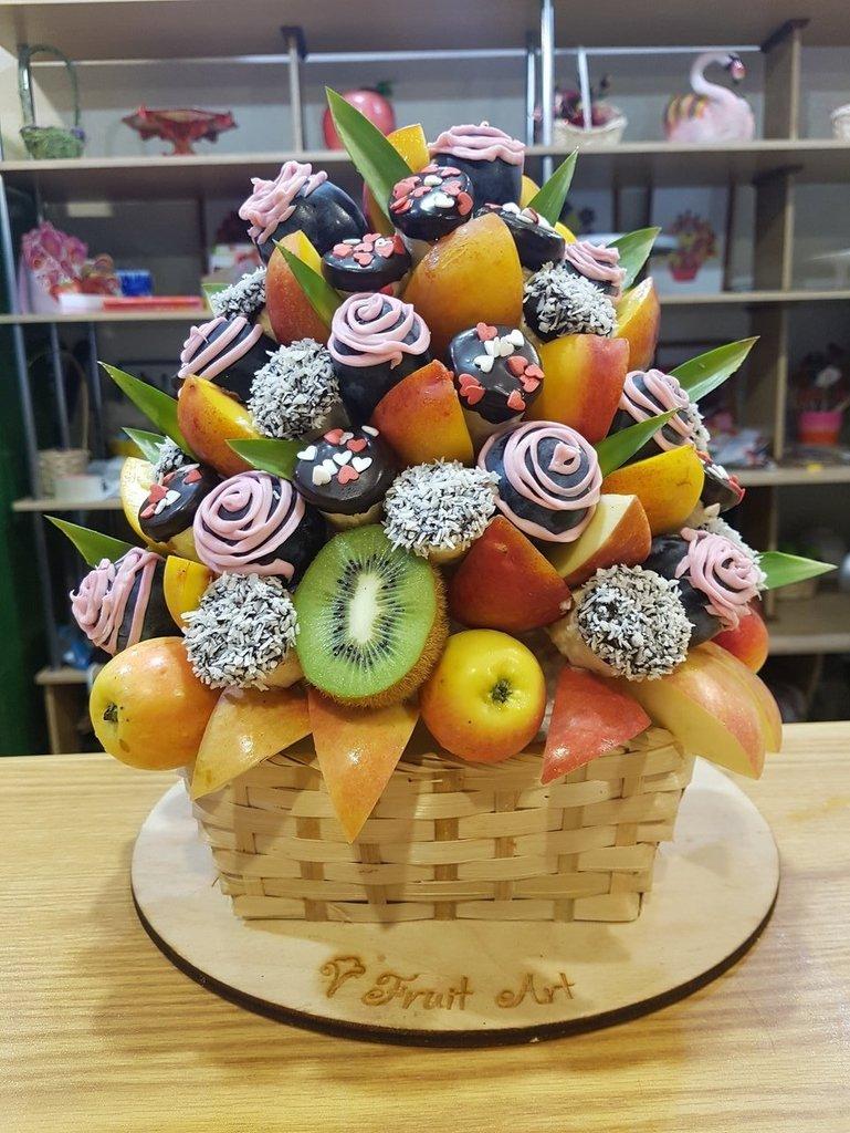 В корзинке: Мери Поппинс в Fruit Art