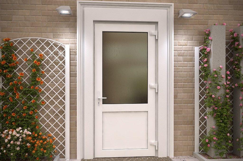 Окна, двери металлопластиковые: Двери ПВХ в 1СК, Первая Стекольная Компания, (ПСК), ООО