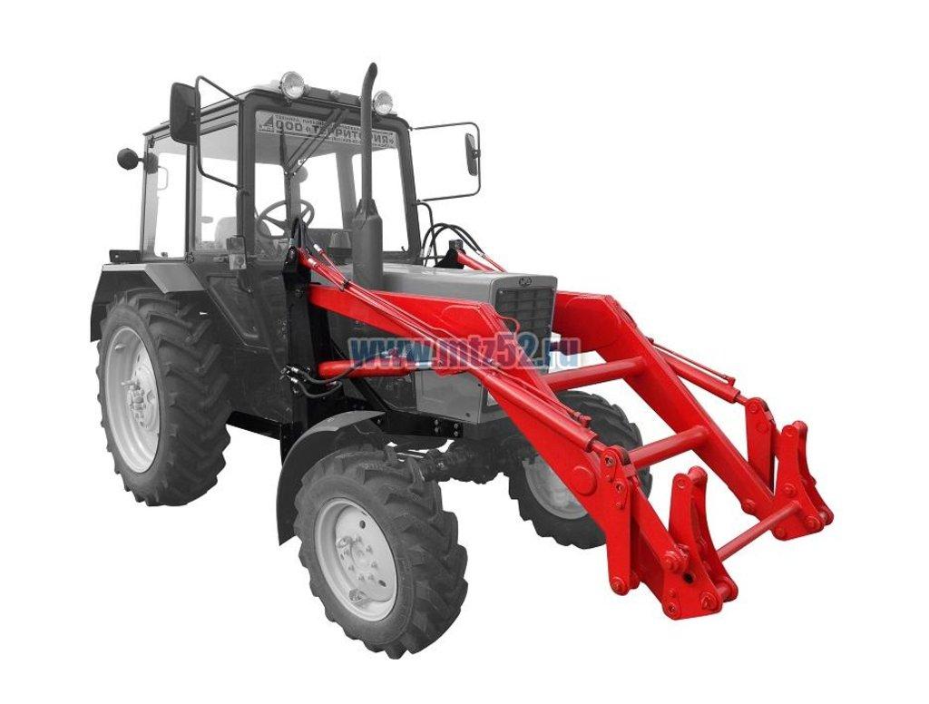 Фронтальные и телескопические погрузчики: Погрузчик фронтальный ПФН-0,38 (г/п 750 кг) на трактор Беларус в Территория