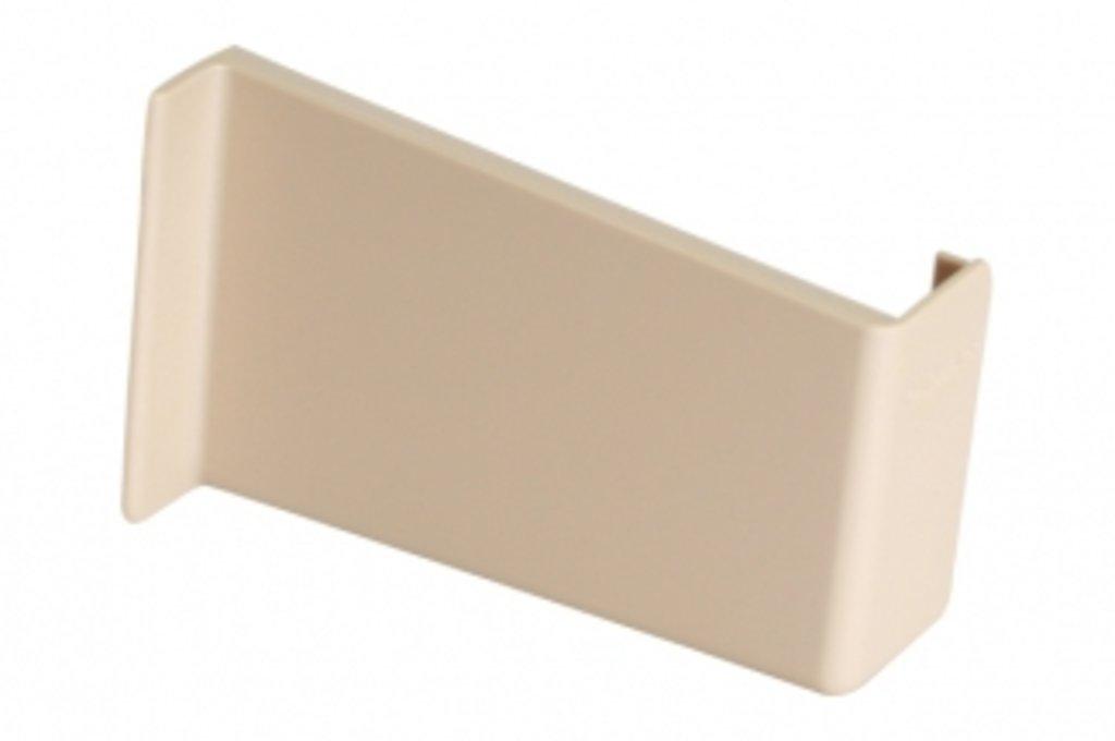 Подвеска полок: Крышечка декоративная для подвески арт.806 бежевая, правая в МебельСтрой