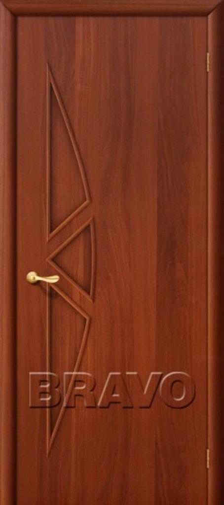 Двери ламинированные BRAVO: 15Г Л-11 (ИталОрех) в STEKLOMASTER