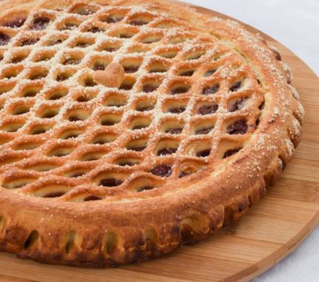 Сладкие: Пирог с Клубникой и киви в Царевы Пироги