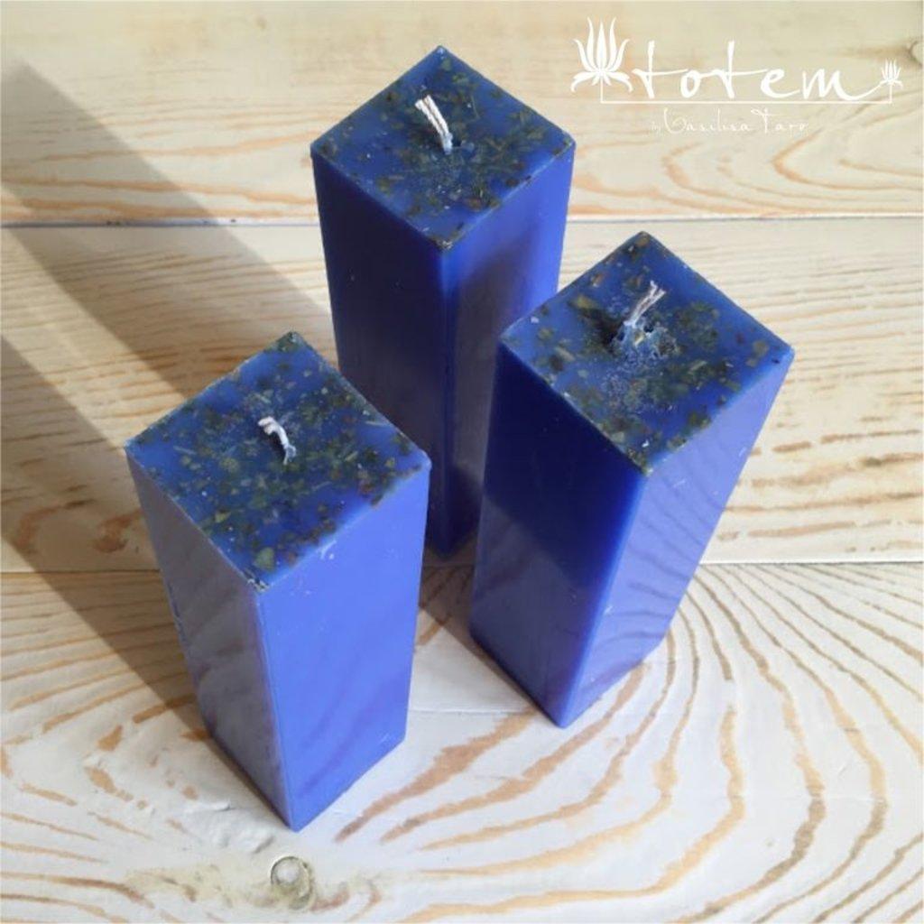 Свечи: Синяя свеча в ТОТЕМ