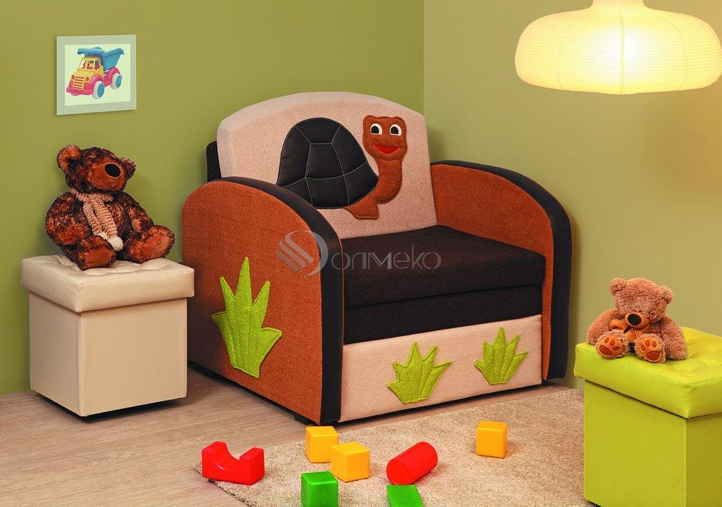 Детские диваны и мягкие кресла: Тахта Мася - 8 (черепаха) в Стильная мебель