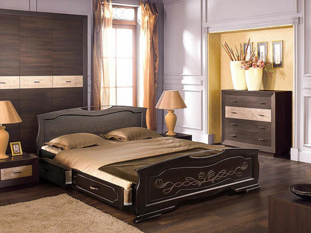 Кровати: Кровать Лидия-3 в Золотая рыбка