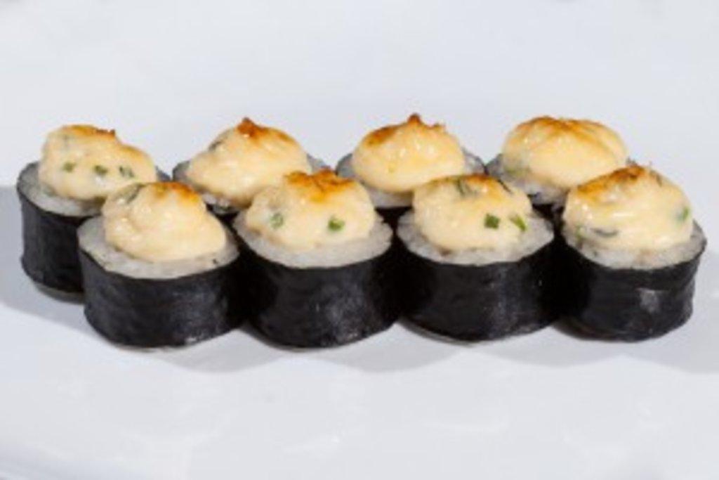 Запеченные роллы: Запеченный с крабом в Sushin