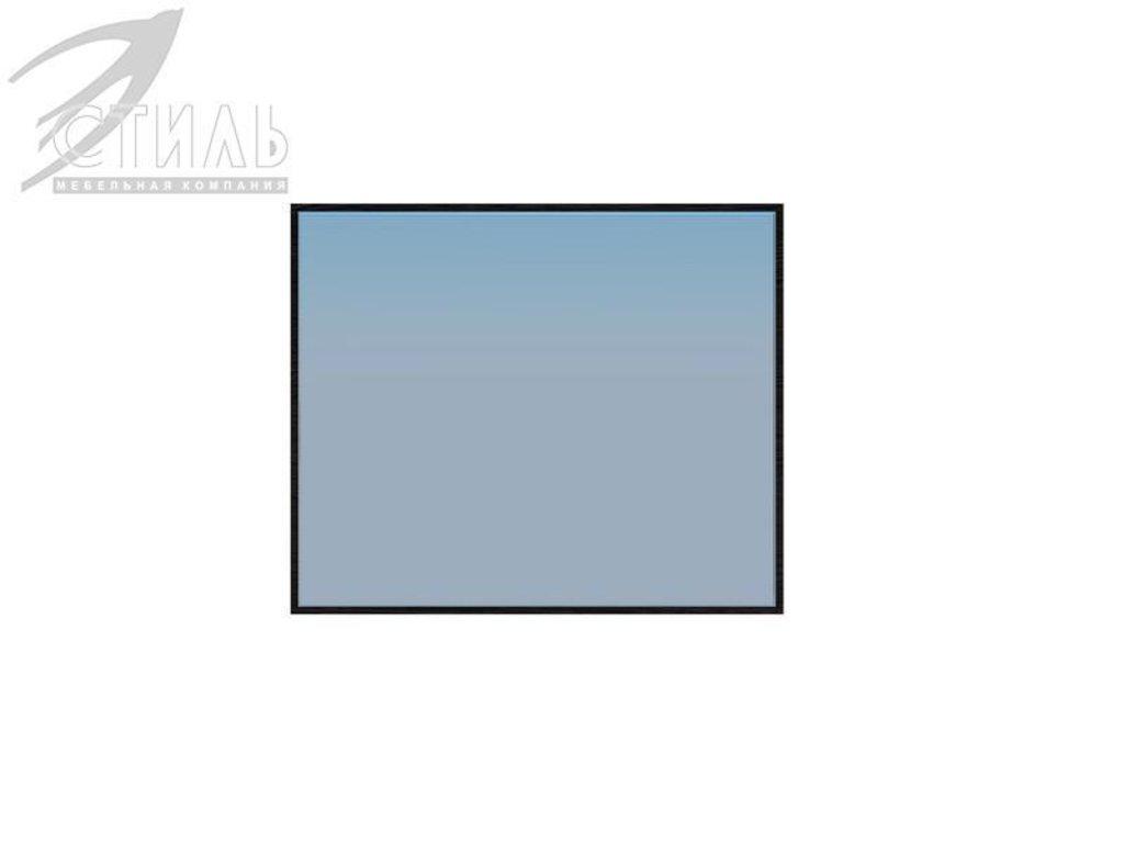 Мебель для спальни Луиза (венге / белый металлик): Зеркало навесное Луиза в Диван Плюс