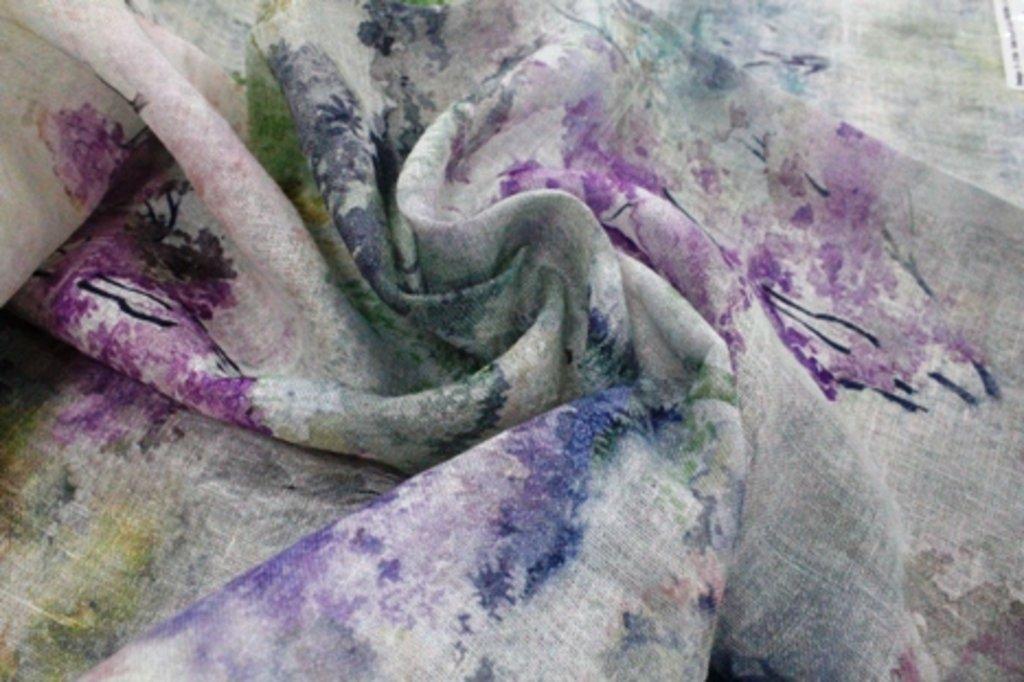Ткани: Van gogh lila в Салон штор, Виссон
