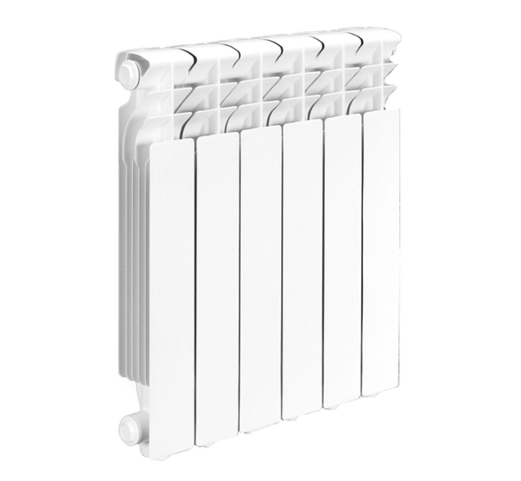 Радиаторы биметаллические (батареи): 500*80 Радиатор биметалл LUXON BIMAX (Италия) в Сантехресурс
