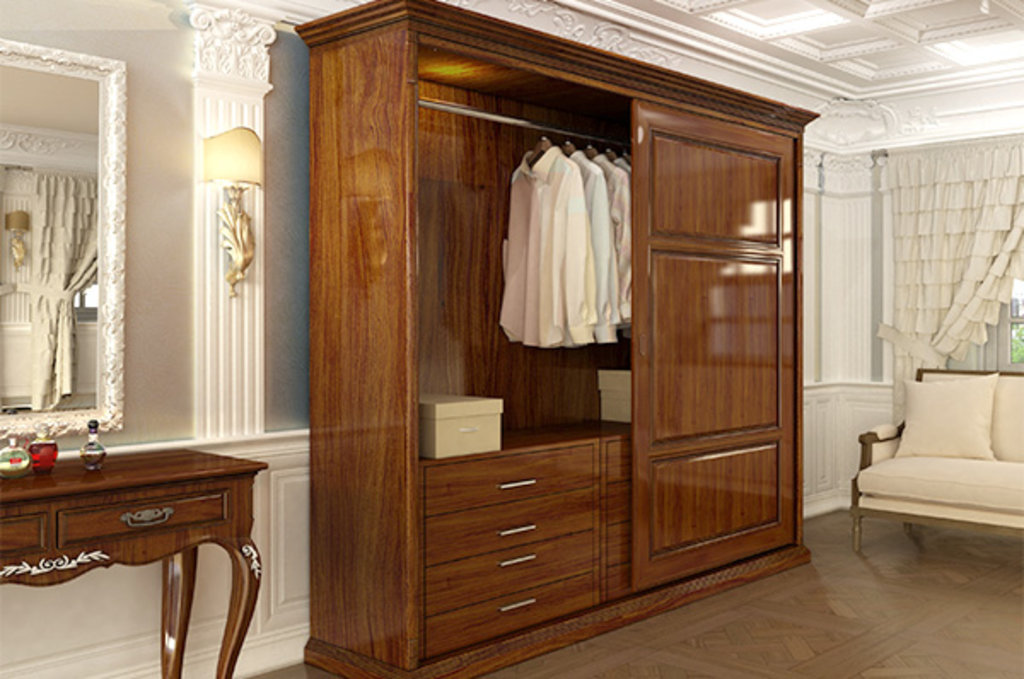 Система раздвижных дверей LIVING BASE: Направляющая нижняя врезная, L=3000мм, отделка бронза в МебельСтрой