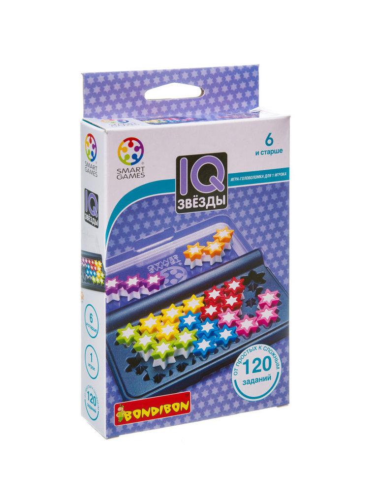 Настольные и спортивные игры: Логическая игра IQ-Звёзды Bondibon в Игрушки Сити