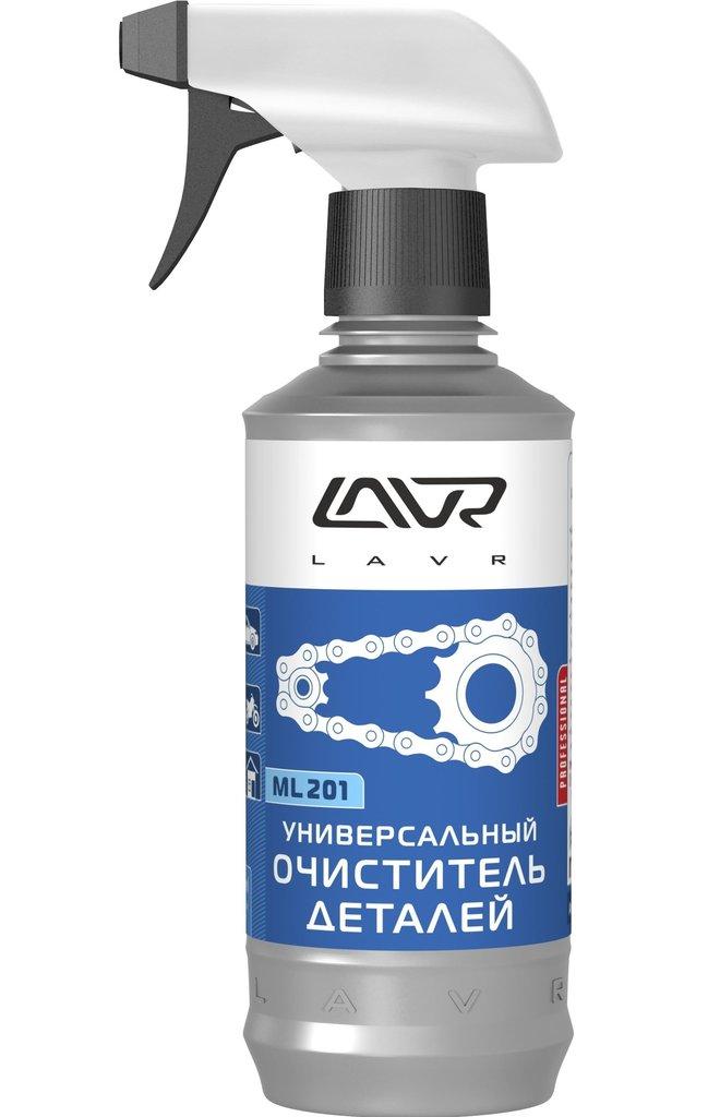 Автохимия и автокосметика: Очиститель деталей Lavr ML-201 универсальный спрей 330 мл Ln1506 в MОТОР