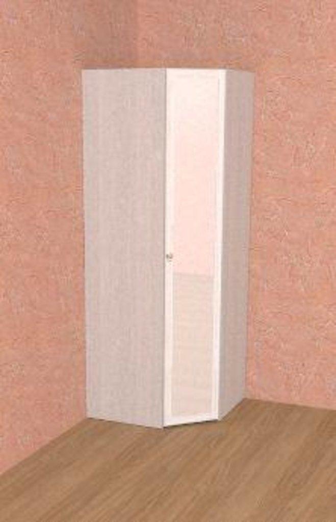 Шкафы для спальни: Шкаф угловой ФАСАД Зеркало БРИЗ 56 в Стильная мебель