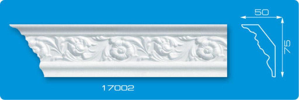 Плинтуса потолочные: Плинтус потолочный ФОРМАТ 17002 инжекционный длина 1,3м, средний в Мир Потолков