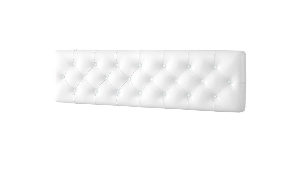 Декоративные панели: Панель головной спинки кровати 1,6 с кристалами Swarovski Белла Вайт в Стильная мебель
