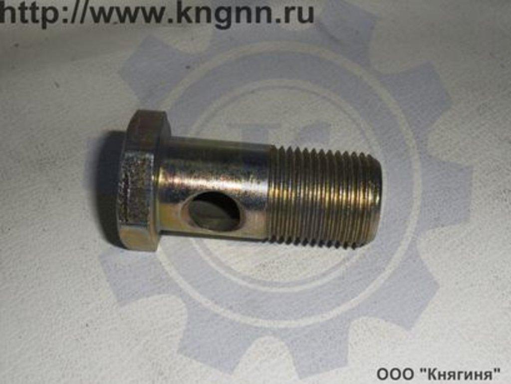 Штуцер: Штуцер трубки нагнет. фильтра масл. 402 дв. в Волга