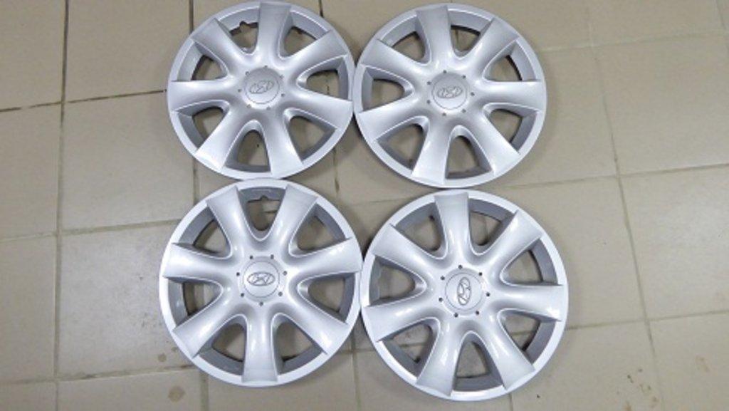 АКЦИИ: колпаки колес комплект (HYUNDAI R15) в ПартЭк