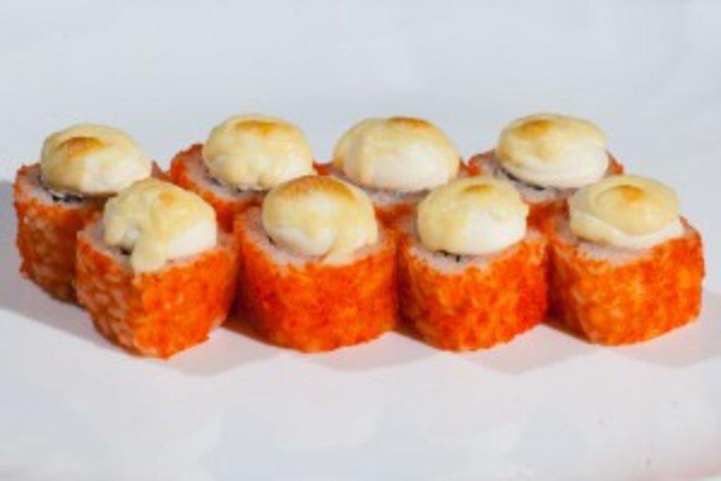 Запеченные роллы: Запеченный с лососем в Sushin