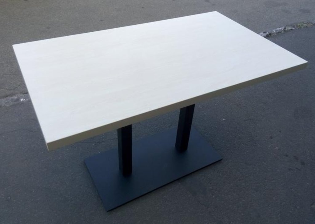 Столы для ресторана, бара, кафе, столовых: Стол прямоугольник 1200х700, подстолья 01 С-2.60 чёрная в АРТ-МЕБЕЛЬ НН