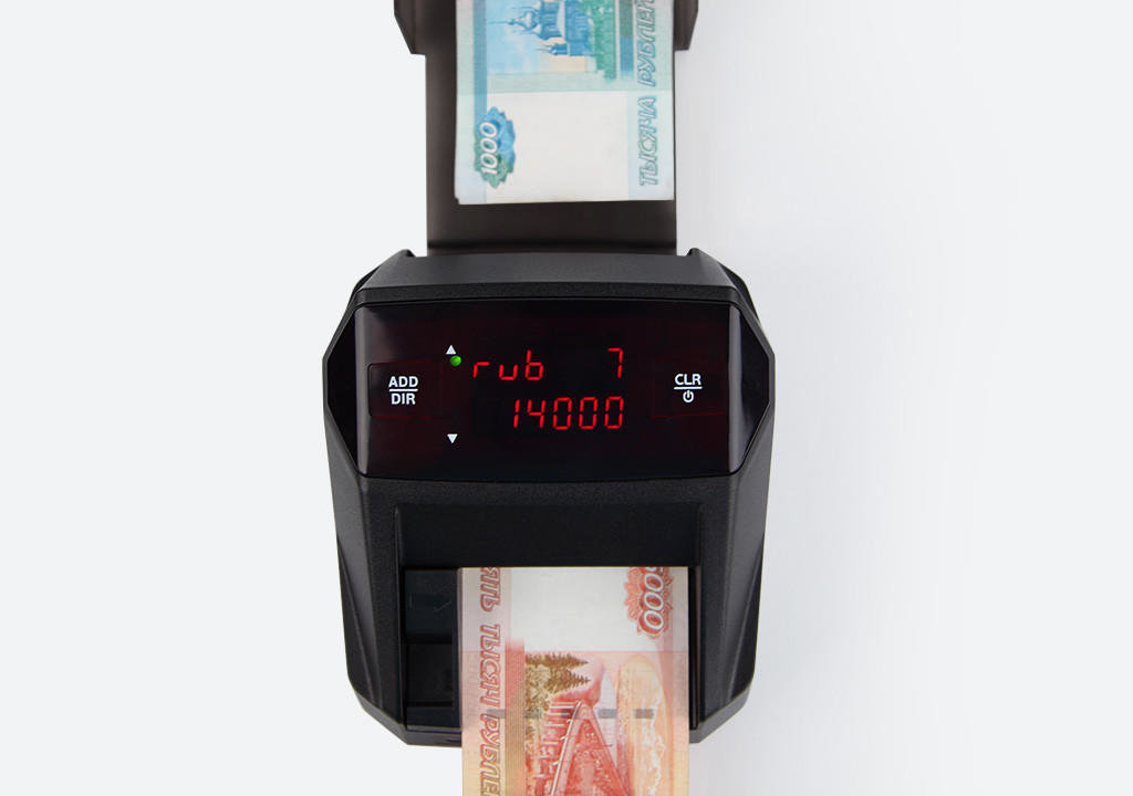 Детекторы банкнот: Moniron Dec Ergo Автоматический детектор банкнот (валют) в Рост-Касс