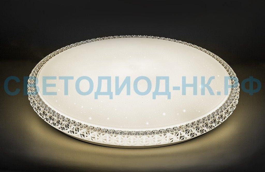 Управляемые светильники-люстры: Светодиодный управляемый светильник накладной Feron AL5300 тарелка 60W 3000К-6500K белый в СВЕТОВОД