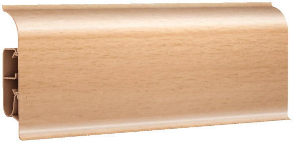 Плинтуса напольные: Плинтус напольный 85 глянцевый 85111 дуб премьер в Мир Потолков